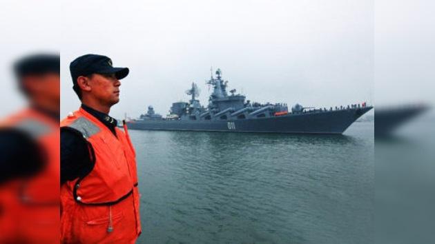 China comienza un simulacro naval con Rusia en medio de tensiones regionales