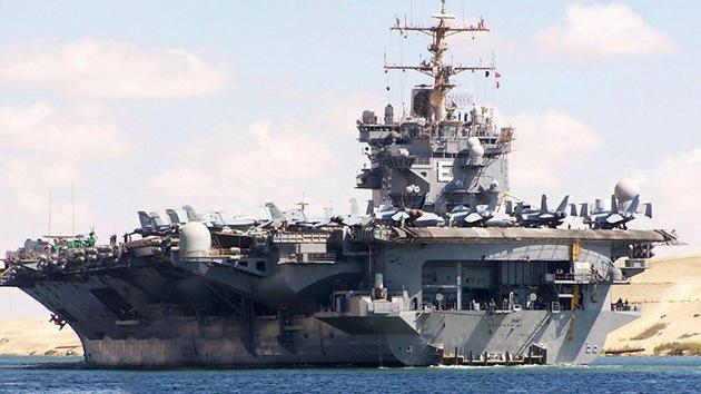 EE.UU. inicia ejercicios navales sin precedentes en el golfo Pérsico