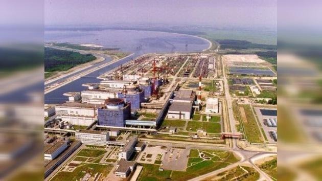 Rusia y Ucrania firman acuerdo sobre central nuclear de Jmelnitski