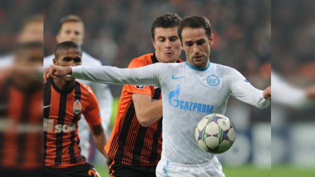 Champions League: el Zenit deja escapar el liderato al igualar con el Shakhtar
