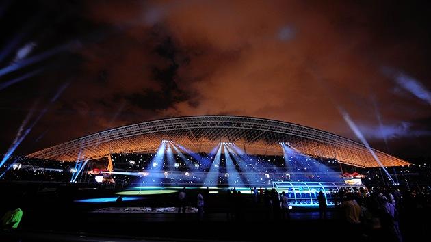 Incendio en el Estadio Nacional de Costa Rica