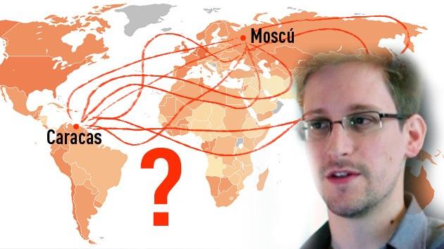 Cómo llegar de Moscú a Caracas: cinco arriesgadas opciones para Edward Snowden