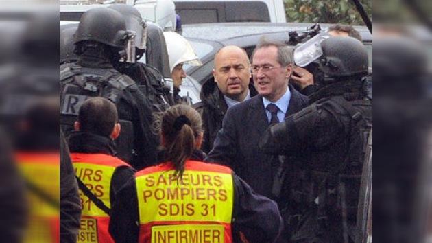 La Policía francesa inicia el asalto de la vivienda del 'asesino de la moto' en Toulouse