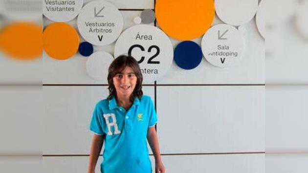 El Real Madrid contrata a un chico de 7 años