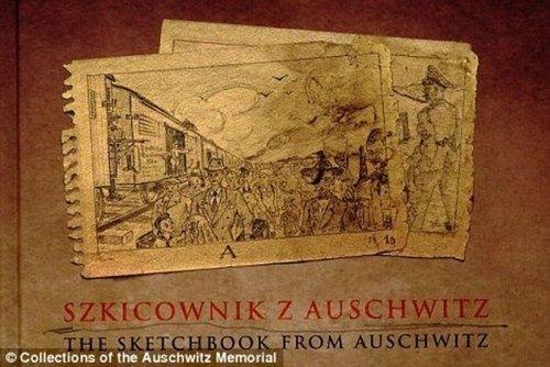 Los horrores de Auschwitz Birkenau en dibujos