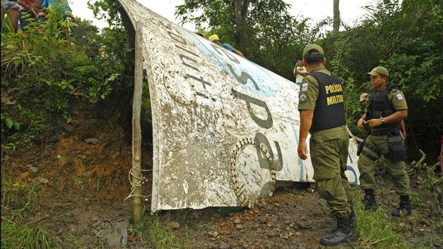 Pescador encuentra restos de un cohete en una región amazónica de Brasil