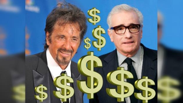 Martin Scorsese y Al Pacino, acusados de evasión de impuestos