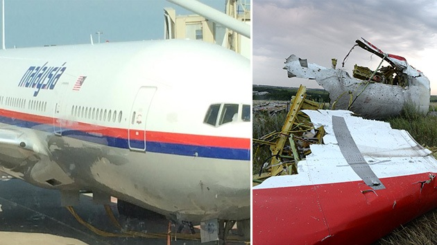 """""""Por si desaparece, así se ve"""": Un pasajero del Boeing 777 le sacó una foto en tierra"""