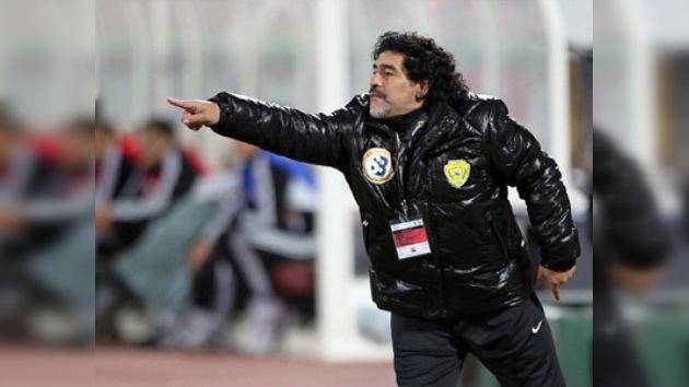 Maradona, cada vez más cerca de la selección de los Emiratos Árabes