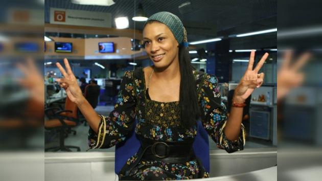De modelo a presentadora de TV en Chechenia