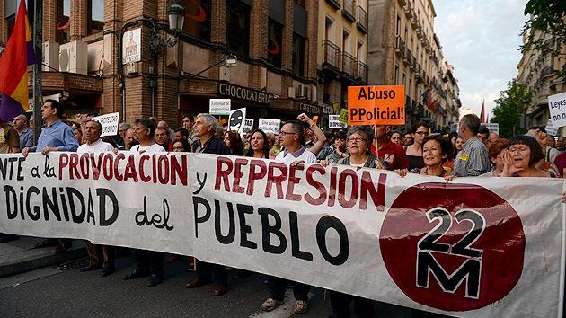 Fotos: Protestas en Madrid para exigir la libertad de los detenidos el 22-M