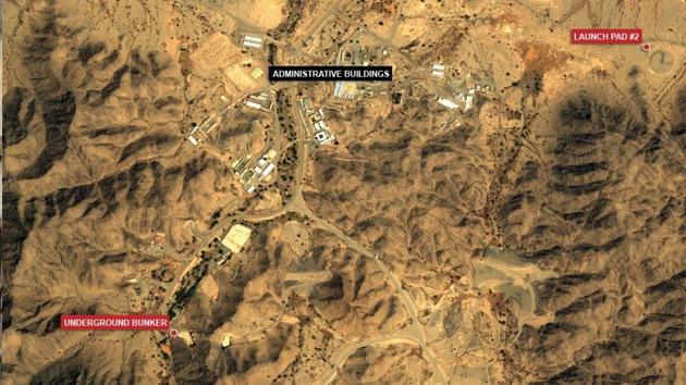 Fotos de satélite revelan una base de misiles secreta saudita que amenaza a Irán e Israel