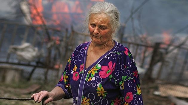 Las muertes de civiles en Ucrania bajo el fuego de Kiev, desapercibidas para el mundo