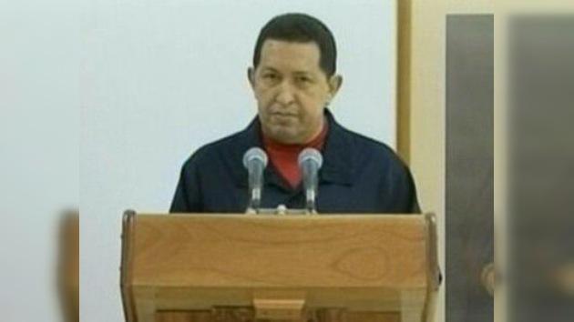 Chávez dice que le extrajeron un tumor cancerígeno en La Habana