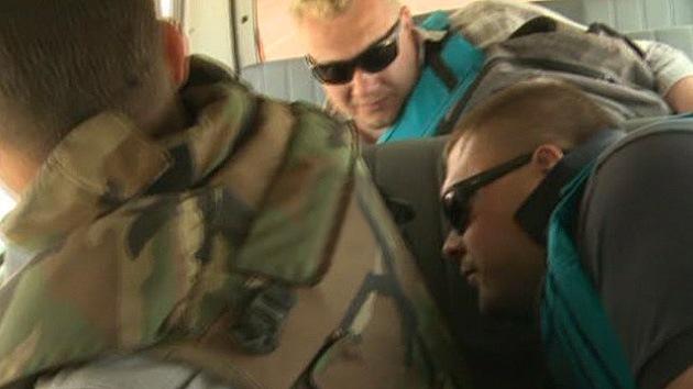 VIDEO: Los rebeldes sirios atacan a periodistas rusos en los Altos de Golán