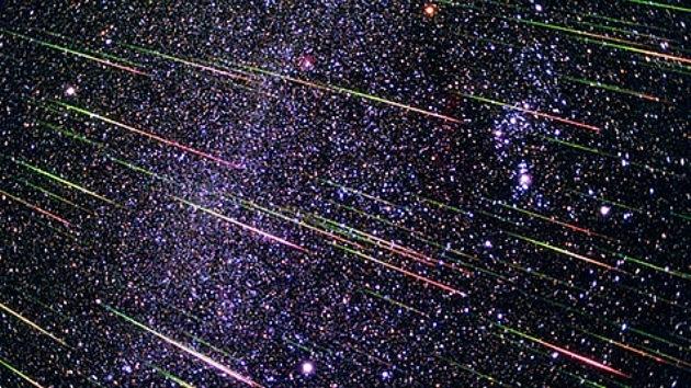 La Tierra recibe la más intensa lluvia de estrellas del Hemisferio Norte