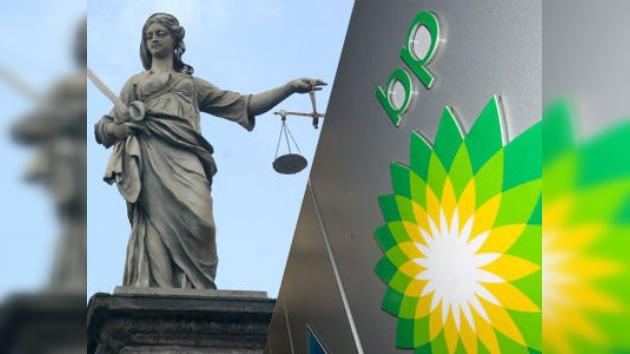 Washington demanda a BP por el vertido de petróleo
