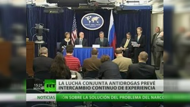Los jefes antidrogas de EE. UU. y Rusia se reunieron en Washington
