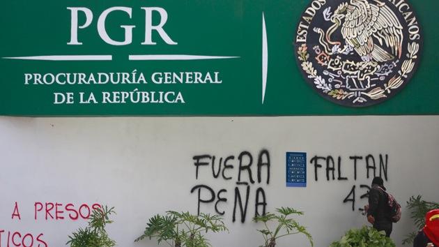 Procuraduría General de México sabía desde abril lo que ocurría en Iguala