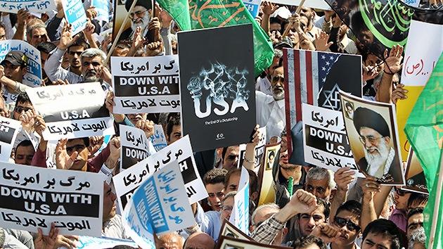 Protestas contra la película antiislámica sacuden Teherán