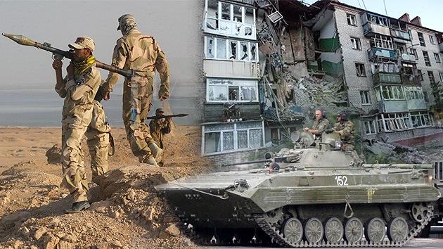 Kiev vuelve a la violencia mientras Irak se desintegra