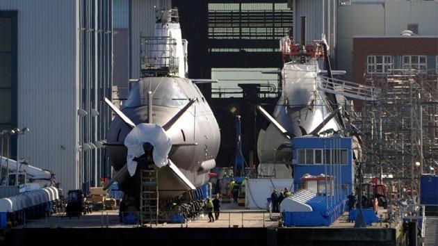 Israel se arma con otro submarino capaz de portar armas nucleares