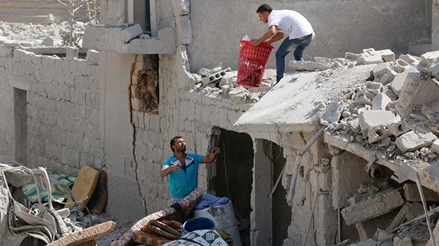 La 'filial' de Al Qaeda en Siria amenaza a la coalición de EE.UU. por los ataques aéreos