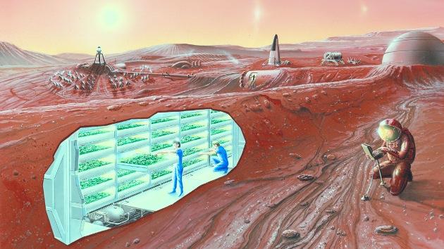 """La NASA: """"Preferimos hablar de colonización de Marte, antes que de exploración"""""""