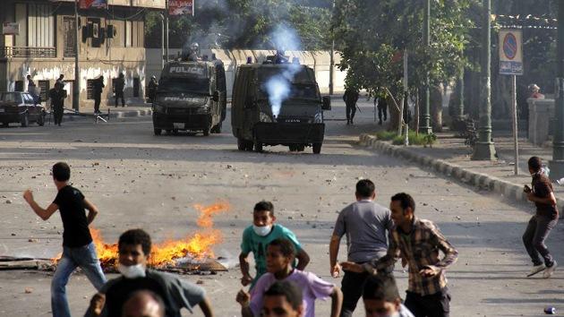 Egipto gasta 2,5 millones de dólares en gases lacrimógenos 'made in USA'