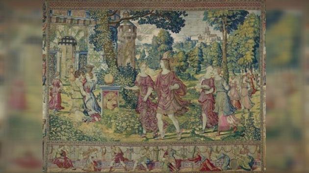El Prado muestra piezas únicas sobre tapices del siglo XVI