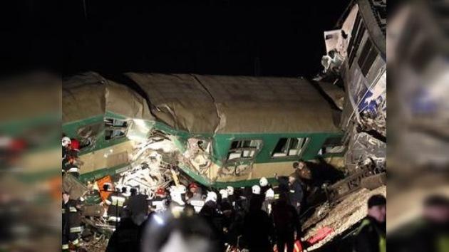 Un choque de trenes en Polonia deja decenas de heridos
