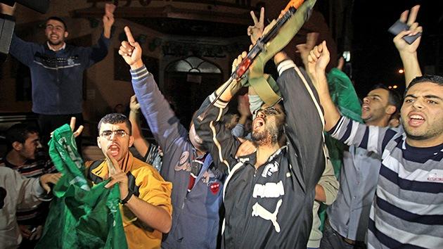 Fotos: Los palestinos celebran la tregua en Gaza