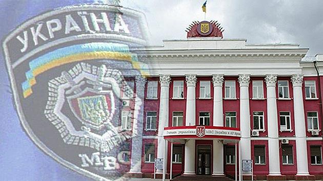 """Rusia: """"Hombres armados de Kiev intentaron asaltar el Ministerio del Interior de Crimea"""""""