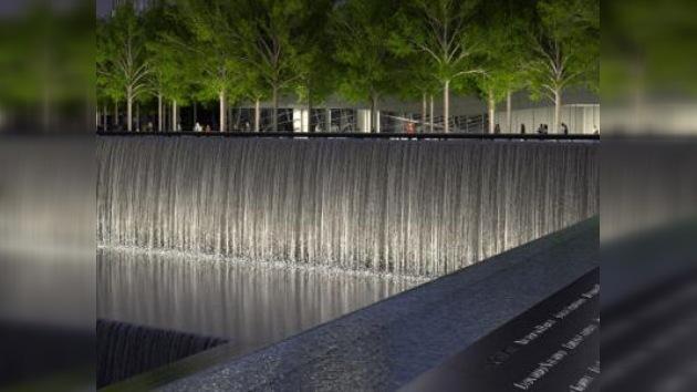 En Nueva York prueban cascadas del monumento a las víctimas del 11-S