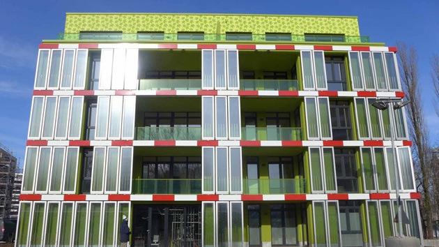 Arquitectura verde: edificio alimentado con algas causa sensación en una feria alemana
