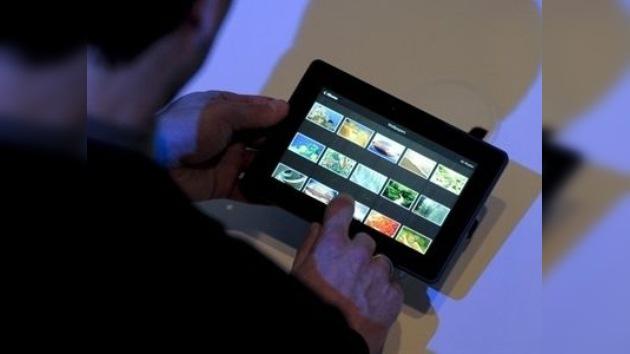 """Los nuevos """"smartphones""""  y tabletas en congreso de telefonía en Barcelona"""