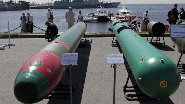 Nuevos torpedos rusos estarán equipados con inteligencia artificial