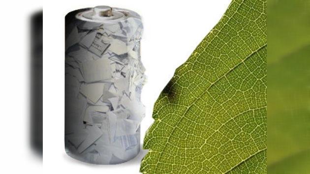 Desechos de papel y celulosa, el 'combustible' de las nuevas baterías ecológicas