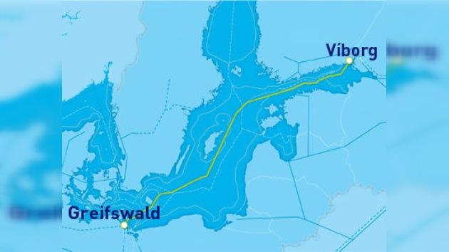 Se cumple un año del inicio de las obras del gasoducto Nord Stream