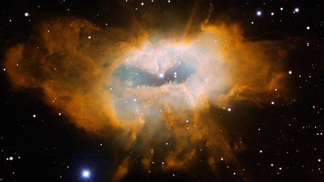 Captan el misterioso brillo de la nebulosa en Aquila