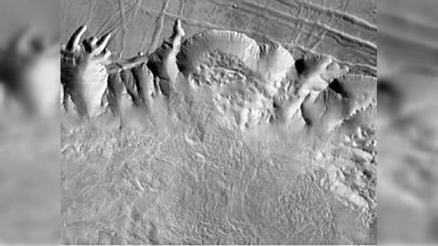 Los turistas espaciales dispondrán del mapa más exacto de Marte en internet