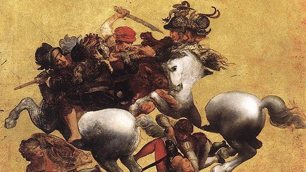 Una valiosa copia de un fresco de Leonardo da Vinci vuelve a Italia
