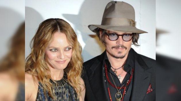Johnny Depp y Vanessa Paradis, al borde de la separación