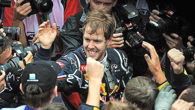 Fotos: Sebastian Vettel logra su tercer título de campeón de Fórmula 1