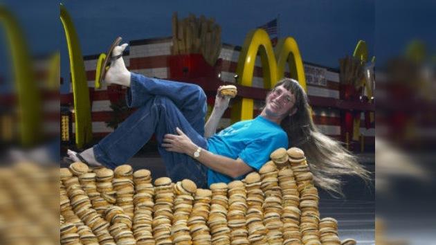 El amante 'número 1' de McDonald's alcanza los 25.000 Big Mac