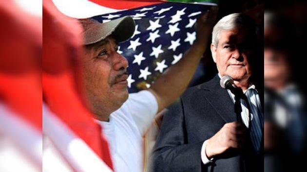 Elecciones en EE. UU.: el voto hispano va al republicano Newt Gingrich