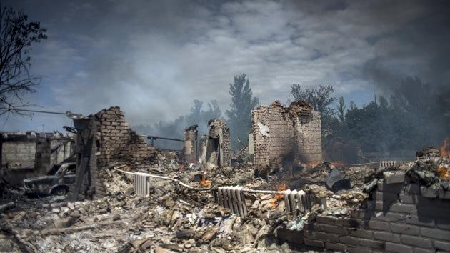 República Popular de Lugansk: Kiev usó bombas de EE.UU. en sus ataques