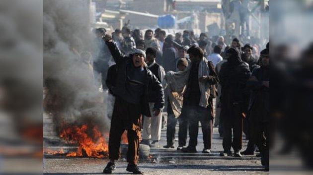 Ocho personas mueren en Afganistán durante las protestas contra la quema del Corán
