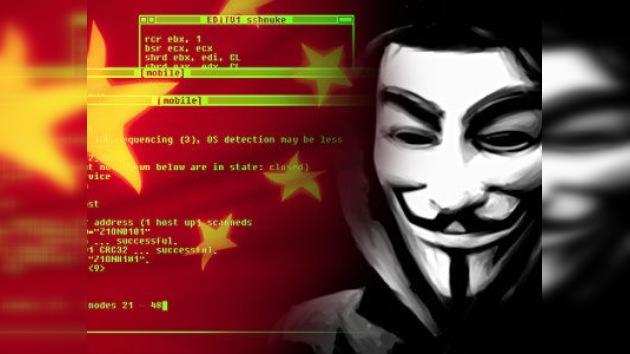 Anonymous proseguirá su embestida contra sitios chinos