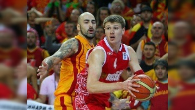 Eurobasket 2011: Rusia logra el bronce tras vencer a Macedonia por 72-68